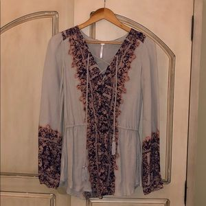 Flowy Tunic Shirt by Free People